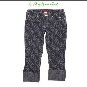 Baby Phat Cropped/Cuffed Jeans